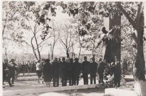 линейка на Братских могилах