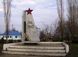 Односельчанам, погибшим в 1941-1945 гг